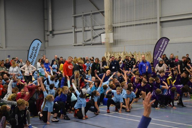 School Games Warm-up