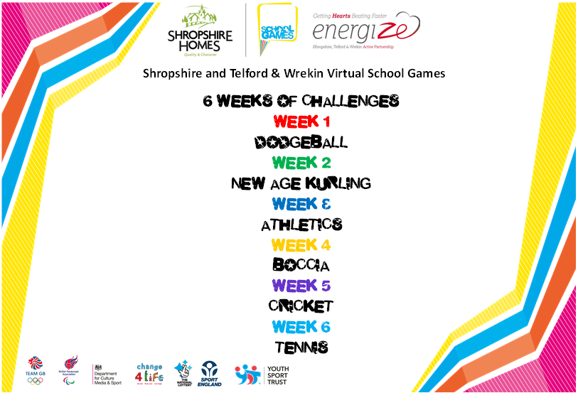 Virtual school games events
