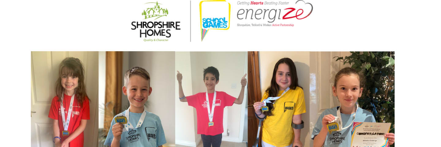 Shropshire Homes continues School Games Sponsorship