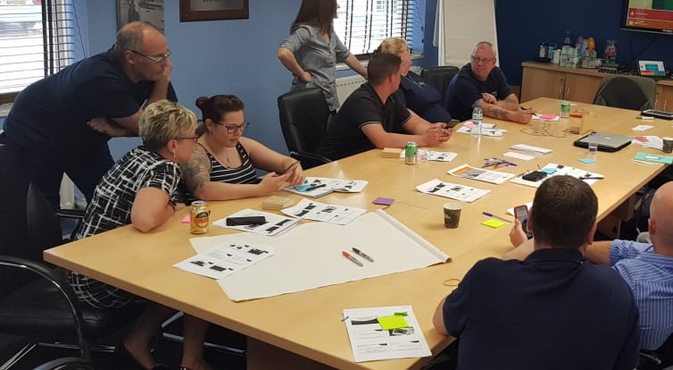 Telford company Forbo meeting to work on how they can make themselves more active within the workplace