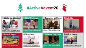 Active Advent 20 Images